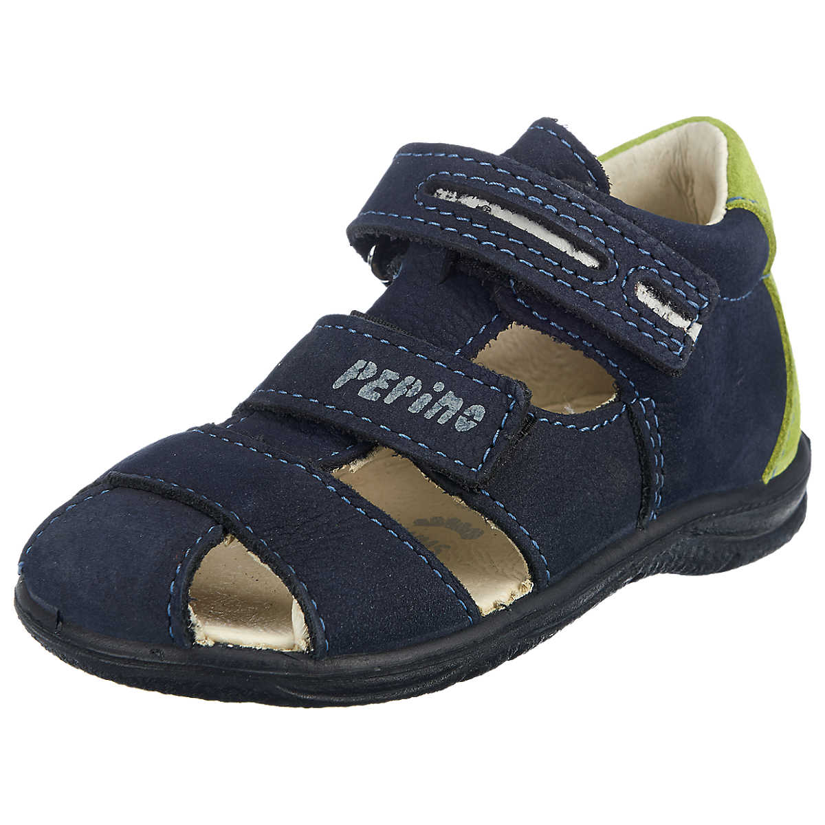 pepino by ricosta kinder sandalen kalli weite m blau schuhkontinent. Black Bedroom Furniture Sets. Home Design Ideas